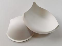 Чашки, с уступом под бретель, пуш-ап, молоко, (Арт: АС50-004.75В), 70С, 75В, 80А