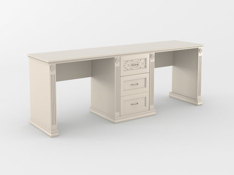 Письменный стол *Верона* 2-х местный