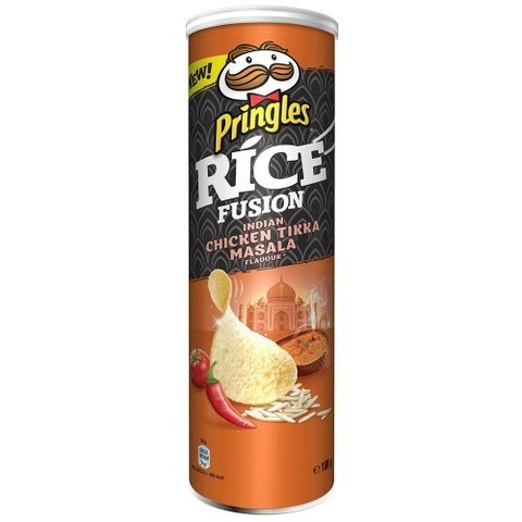 Чипсы Pringles Rice fusion Indian chicken tikka masala 160 гр