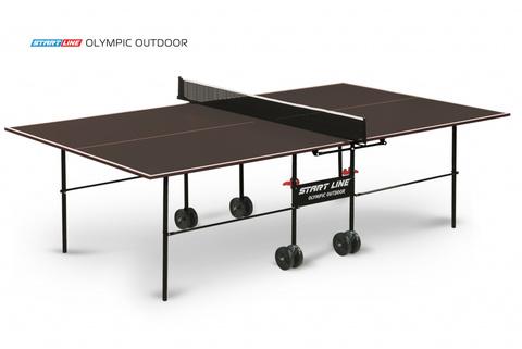 Стол теннисный Start line Olympic Outdoor с сеткой (треб. чехол)