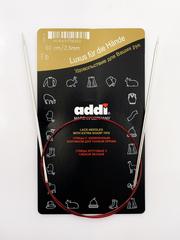 Спицы никелированные круговые с удлиненным кончиком Addi 60 2.5 мм