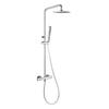 Душевая система с термостатом и тропическим душем для ванны BLAUTHERM 944802RK250 - фото №1