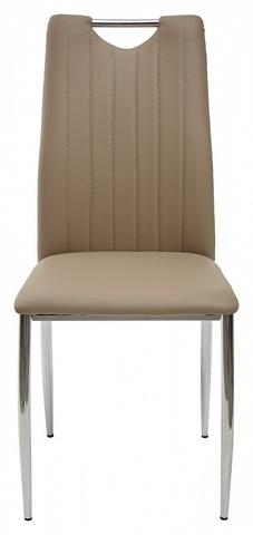 Стул COMFORT 999 серо-коричневый, экокожа М-City