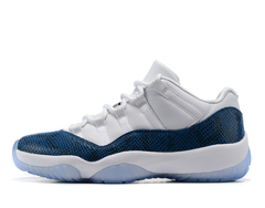 Air Jordan 11 Low 'Navy Blue Snakeskin'