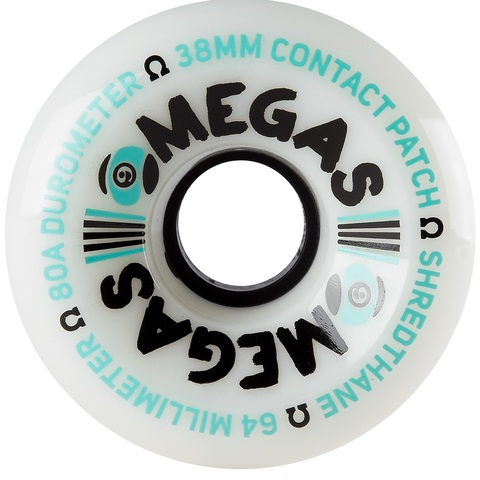 Колеса Sector 9 OMEGA WHEELS 64MM 80A