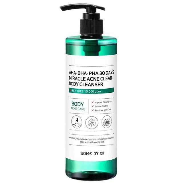 Гель для тела Some By Mi AHA-BHA-PHA 30 Days Miracle Acne Clear Body Cleanser 400 мл