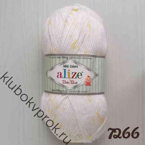 ALIZE BABY BEST MINI COLORS  7266,
