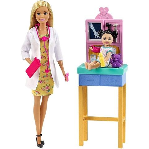 Барби Набор с Педиатром Блондинкой