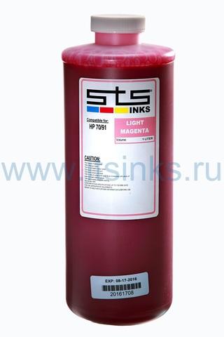 Пигментные чернила STS для HP Light Magenta 1000 мл