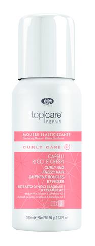 Разглаживающий мусс для вьющихся волос Lisap Curly Care