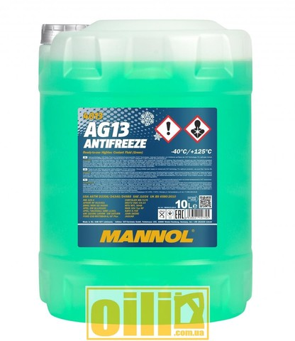 Mannol 4013 Antifreeze AG13 -40°C Hightec 10л
