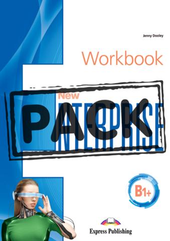 NEW ENTERPRISE B1+Workbook with digibook app. Рабочая тетрадь (с ссылкой на электронное приложение)