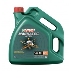 Моторное масло Castrol Magnatec Diesel 5W-40 DPF 4 л