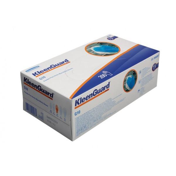 Kimberly-Clark KLEENGUARD* G10 Arctic Blue Nitrile Gloves (1*100шт) - Перчатки