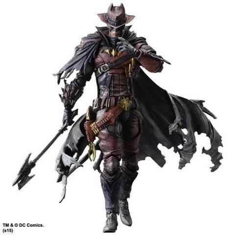Бэтмен Вне времени фигурка Дикий Запад (копия) — Batman Timeless Wild West Play Arts Kai (copy)