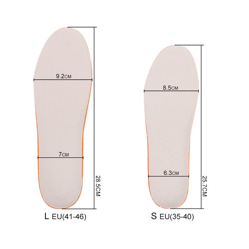 Набор мягких стелек для увеличения роста 1.5; 2.5 см