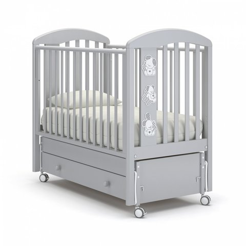 Детская кровать Макс белая ночь