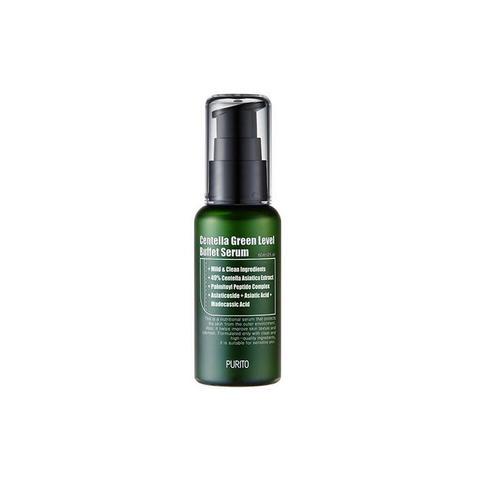 PURITO Увлажняющая сыворотка для восстановления кожи лица Centella Green Level Buffet Serum 60мл