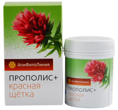 Фитокомплекс Прополис+красная щетка, 60 шт