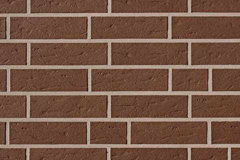 ABC - Objekta, Braun, genarbt, 240х71х10, NF - Клинкерная плитка для фасада и внутренней отделки