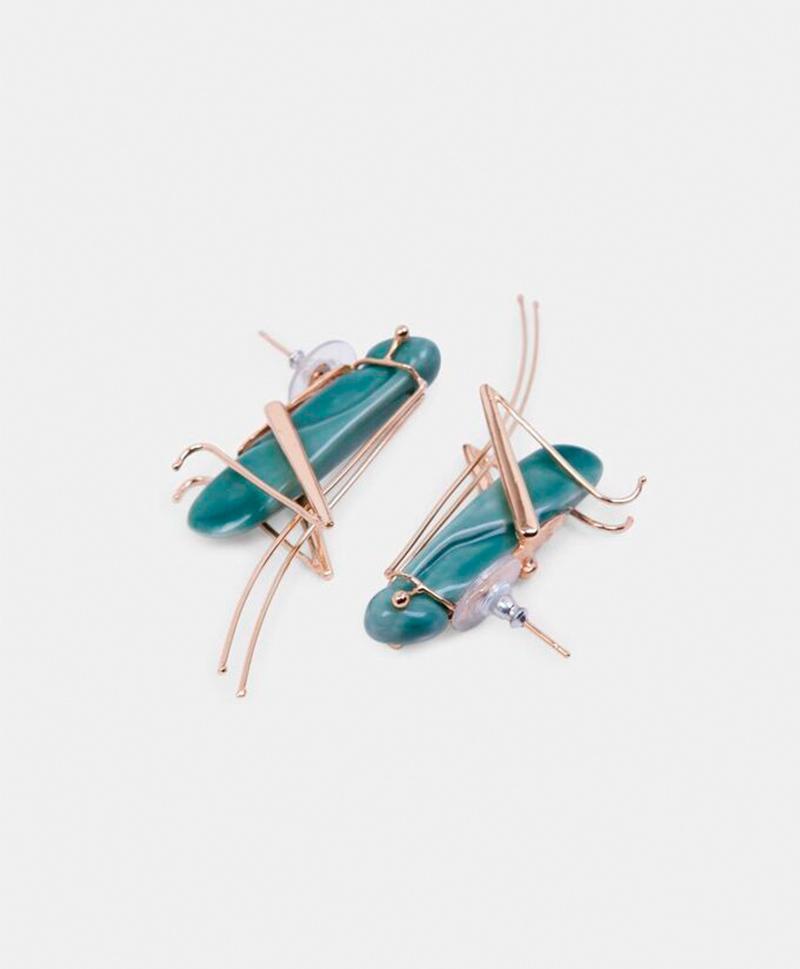 Серьги Grasshoper