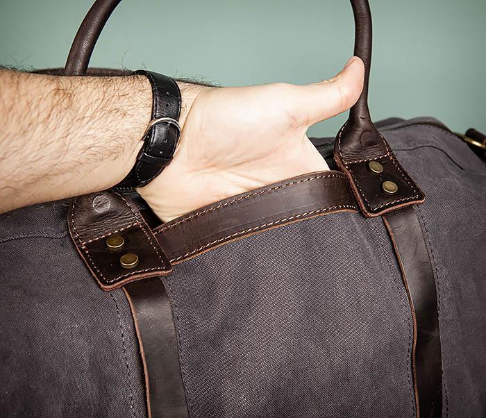 BAG500-1 Вместительная дорожная сумка для поездок фото 09