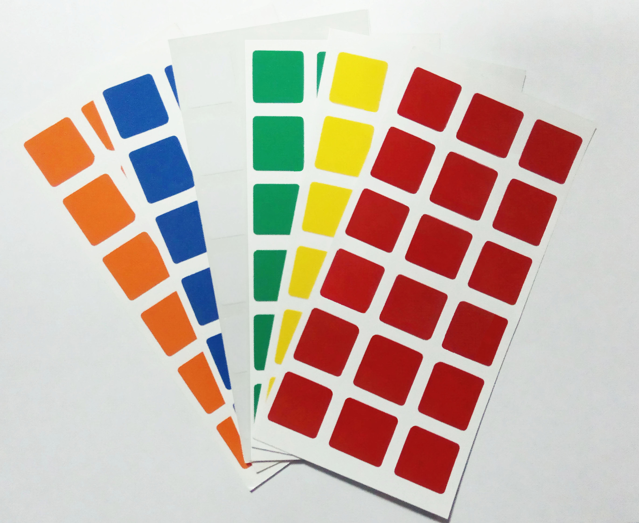 Наклейки для кубов 3х3 Dayan