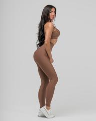 Женские лосины с высоким поясом Infinity high waist basic 115 cinnamon