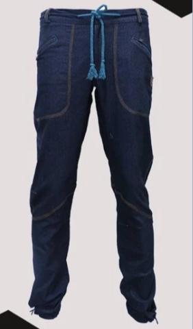 Брюки для скалолазания Hi-Gears The Cliff 4 Season midnight blue jeans (темно-синие джинсы)