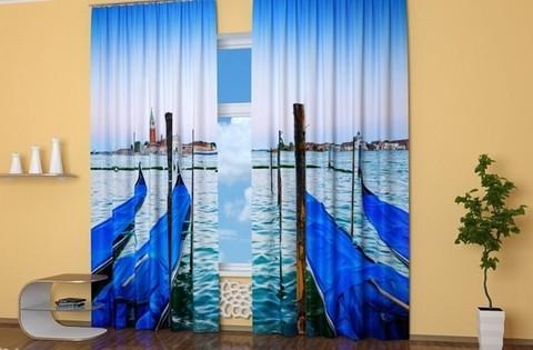 Комплект фотоштор Взгляд на Венецию
