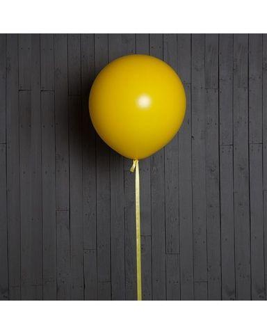 Шар гигант жёлтый