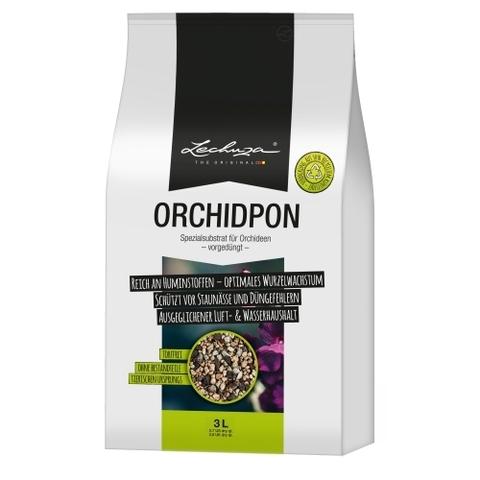 19580 Субстрат для орхидей  Lechuza ORCHIDPON  3 L