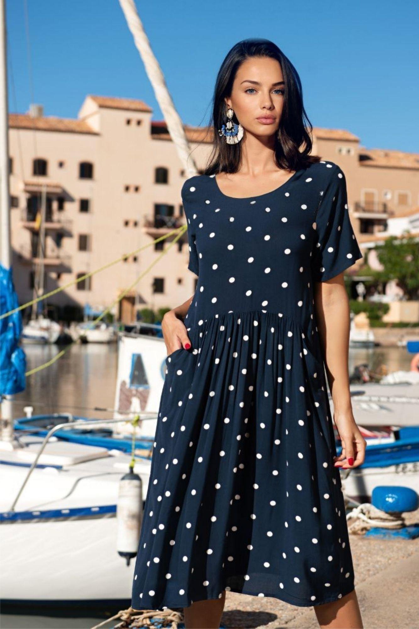 Платье летнее карманы