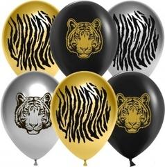 К 12''/30см, Благородный тигр, Ассорти, хром, 2 ст, / 25 шт. /