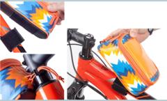 Велосипедная сумка на раму с отделением под смартфон Roswheel Trier (Оранжевый) L 121024LMH-H - 2