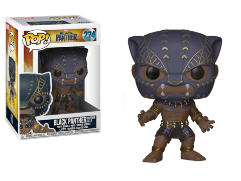 Фигурка Funko POP! Bobble: Marvel: Black Panther: Black Panther Warrior Falls 23130