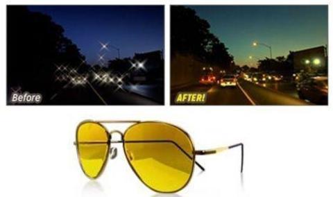 Очки ночного видения Night View Glasses
