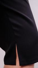 Літо. Стильний костюм плюс сайз. Леопард + чорний.