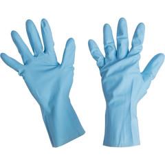 Перчатки Mapa Vital Eco 117 из латекса голубые (размер 9, L, пер483009)