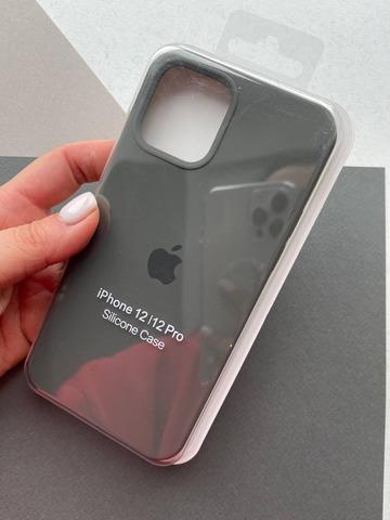 Чехол iPhone 12 (6,7) Silicone Case Full /dark olive/