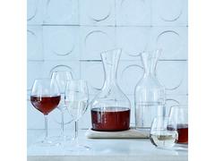 Набор из кувшинов для вина и воды на деревянной подставке, 1.2 л/1.4 л, фото 2