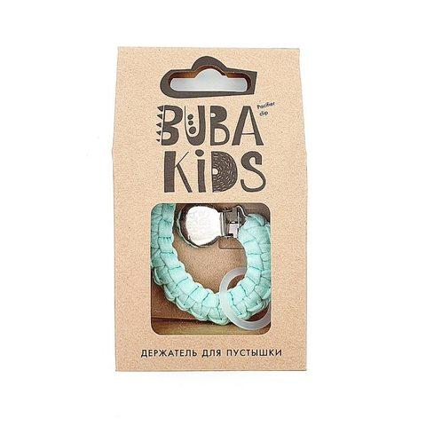 Прищепка-держатель для соски текстильный BUBA Kids Горная мята