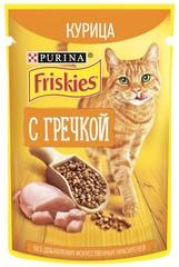 Корм для кошек Friskies Курица с гречкой 75г