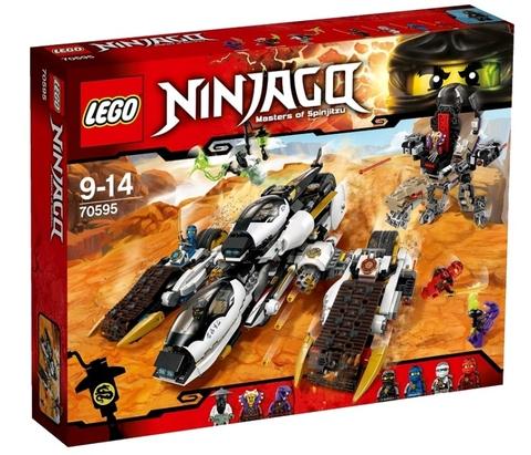 LEGO Ninjago: Внедорожник с суперсистемой маскировки 70595 — Ultra Stealth Raider — Лего Ниндзяго