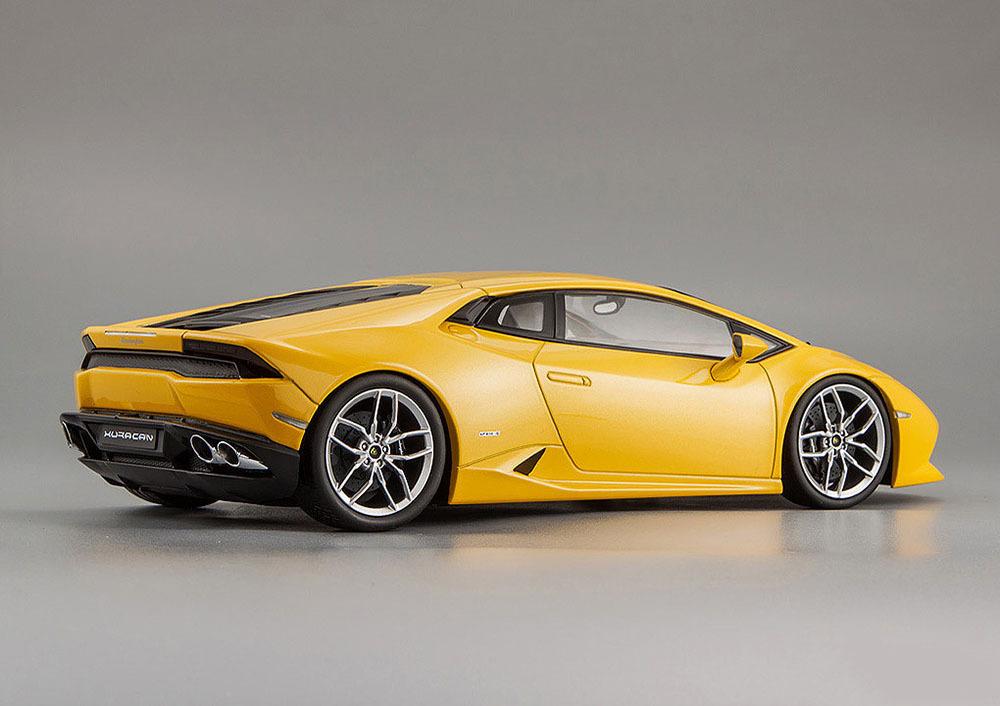 Коллекционная модель Lamborghini Huracan LP610-4 2014 Yellow