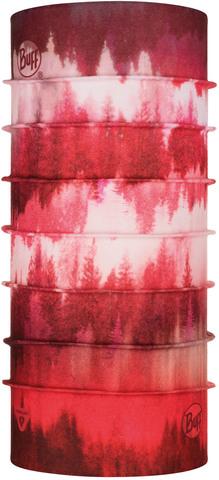 Тонкая зимняя бандана-трансформер Buff Thermonet Misty Woods Blossom Red фото 1