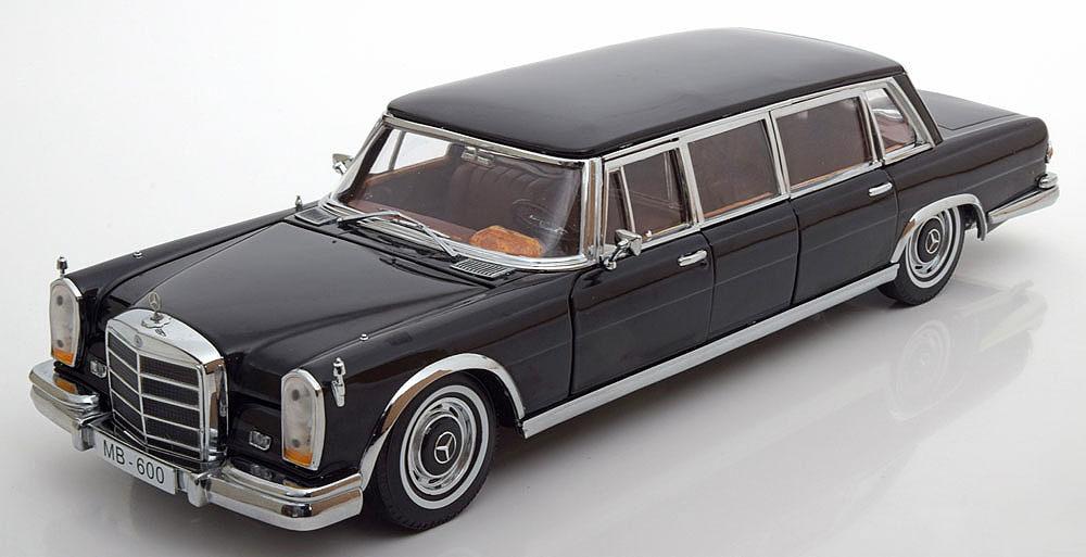 Коллекционная модель Mercedes-Benz W100 600 Pullman Limousine 1963 Black