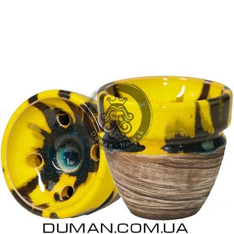 Чаша Kolos Rikule (Колос) |Yellow Dark Bue