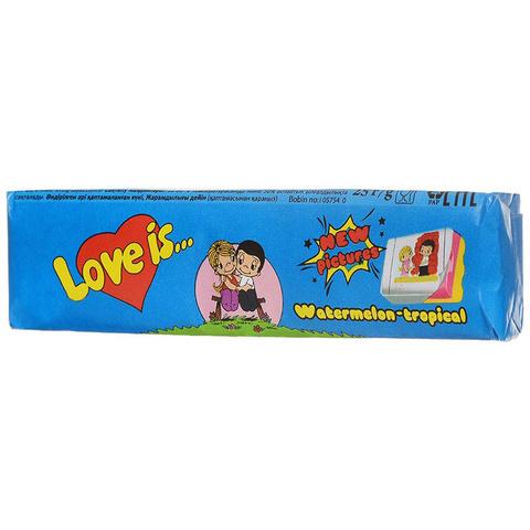 Жевательная конфета LOVE IS со вкусом Арбуз-тропик 25 г