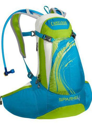 Картинка рюкзак велосипедный Camelbak Spark 10 LR Blue Jewel/Chartreus - 1
